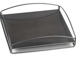 Howard Elliott Outdoor Tray No Tip Block Tray Titanium