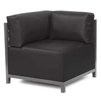 Howard Elliott Atlantis Black Axis Corner Chair Slipcover