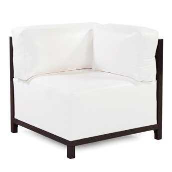 Howard Elliott Atlantis White Axis Corner Chair Slipcover