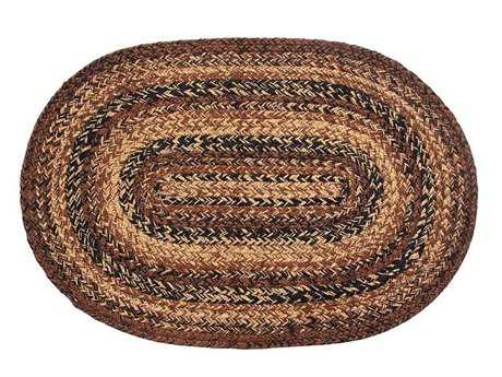 IHF Rugs Capuccino Oval Brown Area Rug