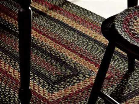 IHF Rugs Tartan Rectangular Black Area Rug