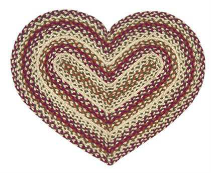 IHF Rugs Woodbury Heart Red Area Rug