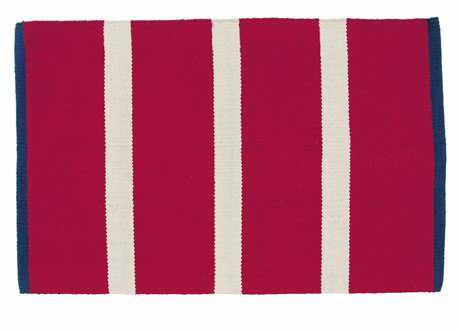 IHF Rugs Crimson Sea Rectangular Red Area Rug