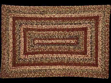 IHF Rugs Apple Cider Rectangular Green Brown & Red Area Rug