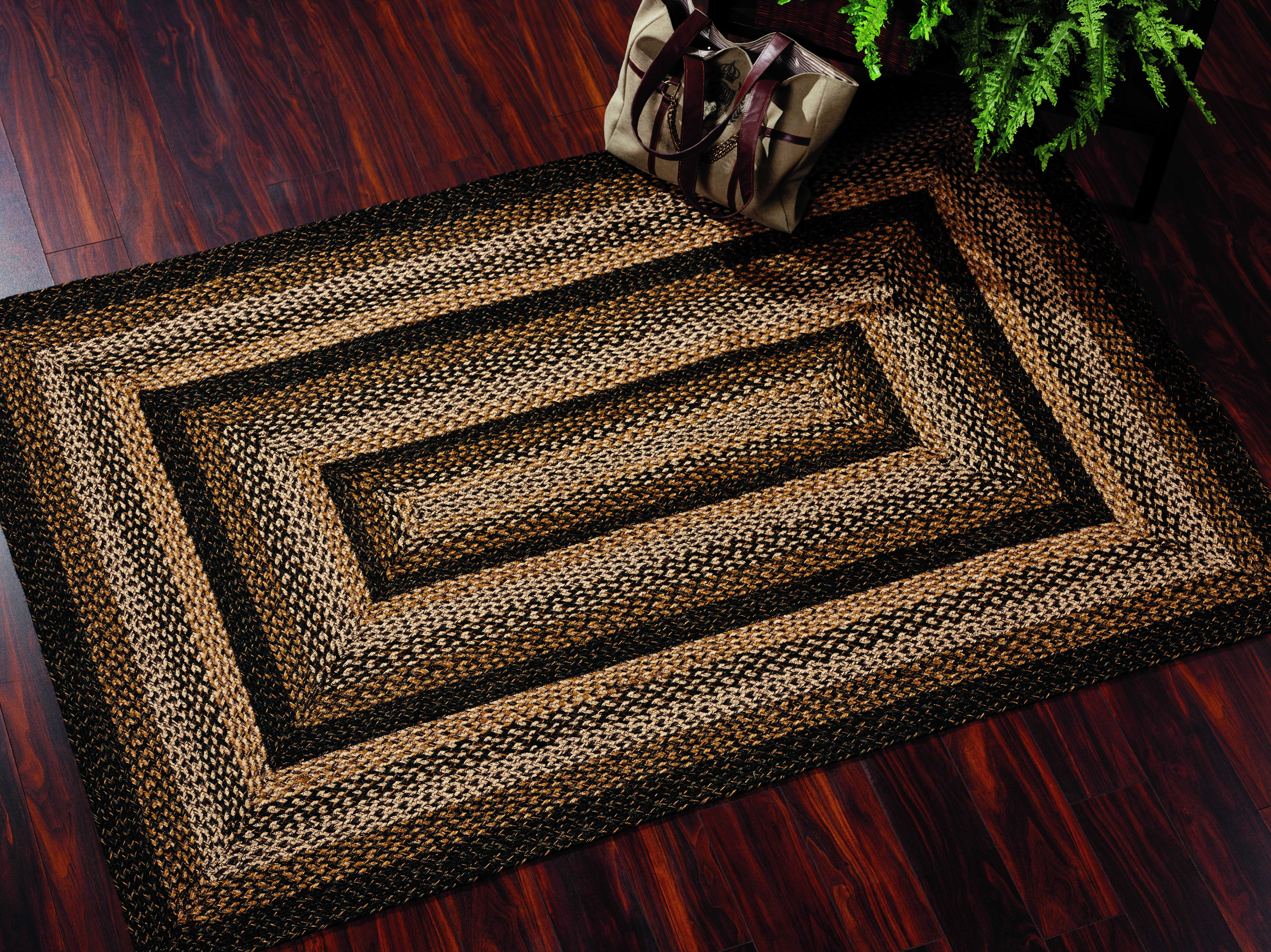 Ihf Rugs Black Forest Rectangular Black Brown Amp Beige Area