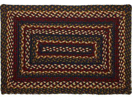 IHF Rugs Blueberry Rectangular Blue Red & Beige Area Rug