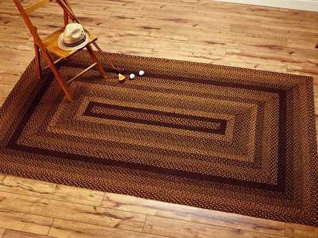 IHF Rugs Acorn Rectangular Brown & Beige Area Rug