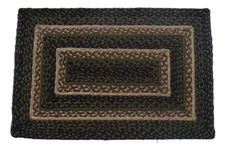 IHF Rugs Pinecone Rectangular Green Area Rug