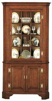 Henkel Harris Fairfax Corner China Cabinet