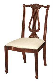 Henkel Harris Lyre Back Side Chair