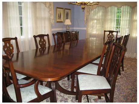 Henkel Harris 70 x 42 Rectangular Dining Table