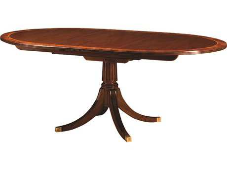 Henkel Harris 54 x 45 Oval Dining Table