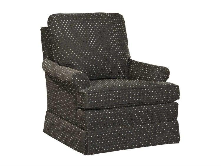Hekman Upholstery By Woodmark Isadora Swivel Rocker Club Chair