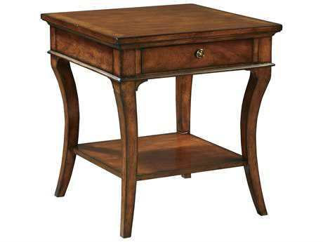 Hekman European Legacy 24 Square End Table
