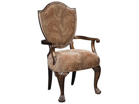 Hekman New Orleans Upholstered Dining Arm Chair