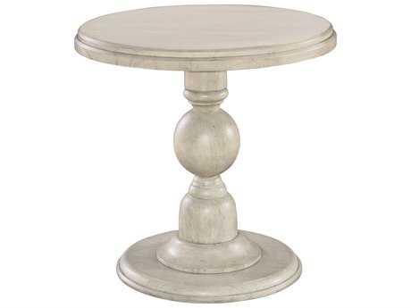 Hekman Homestead Linen Pedestal End Table