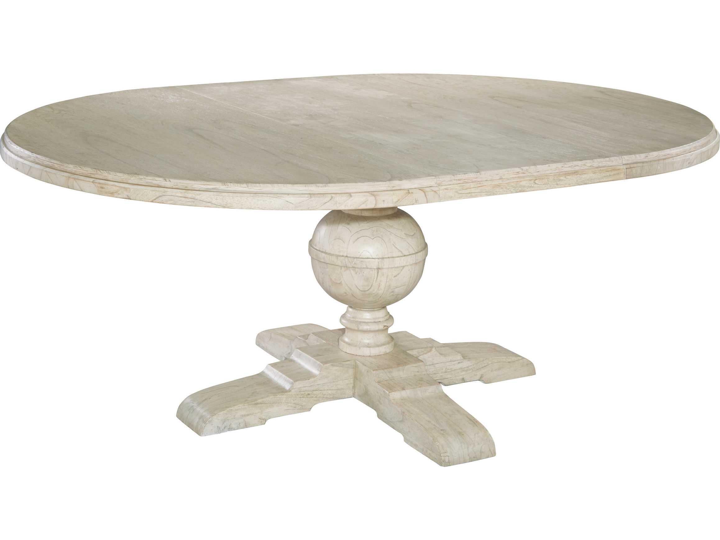Hekman Homestead Linen 54 Round Pedestal Dining Table