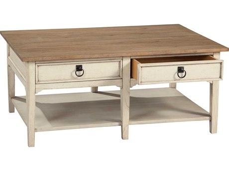 Hekman Suttons Bay Sand & Weathered Rectangular Coffee Table