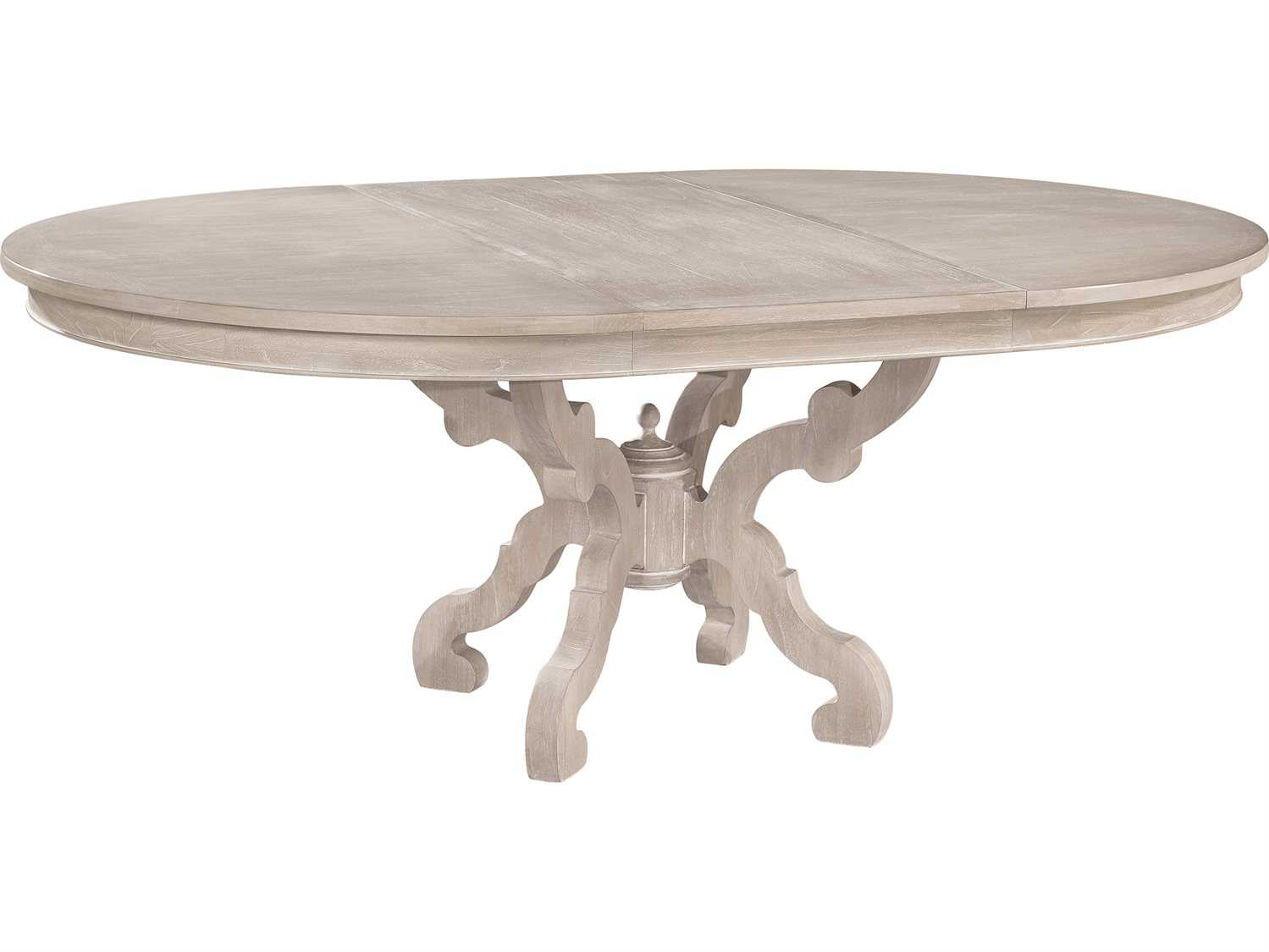 Hekman Suttons Bay Driftwood Baroque Round Dining Table