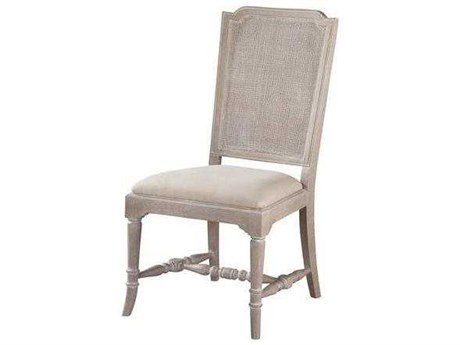 Hekman Suttons Bay Driftwood Cane Back Side Chair