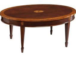 Hekman Copley Place 42 x 30 Oval Coffee Table