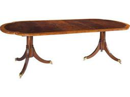 Hekman Copley Place Double Pedestal 76'' x 46'' Oval Dining Table