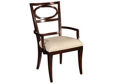 Hekman Central Park Oval Back Arm Chair (OPEN BOX)