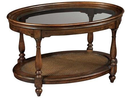 Hekman Vintage European Vintage Oval Coffee Table