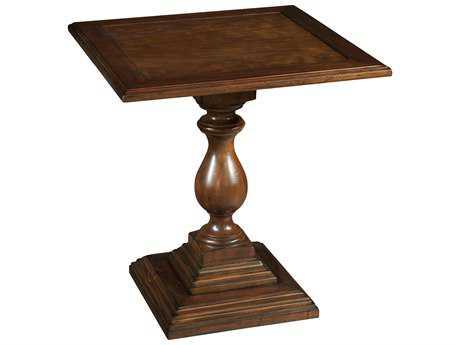 Hekman Vintage European Vintage Square Pedestal End Table