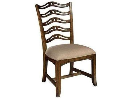 Hekman Vintage European Vintage Ladder Back Side Chair