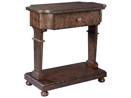 Hekman Accents Black Gesso  Accent Table