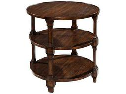 Hekman Accents 26 Round Three-Tiered Lamp Table