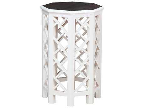 Hekman Accents Cottage White Accent Table