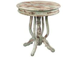 Hekman Accents Antique Painted Round Table
