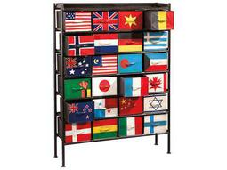 Hekman Accents Flag Bunting Chest