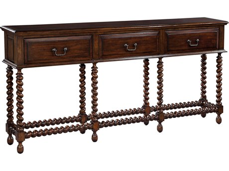 Hekman Accents Barley Twist Console Table