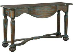 Hekman Accents Distressed Blue Console