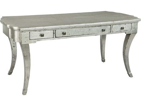 Hekman Accents Silver Leaf Saber Leg Table Desk