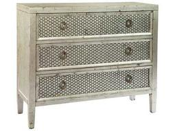 Hekman Accents Silver Leaf Hall Chest