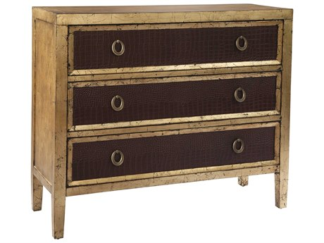 Hekman Accents Gold Leaf Hall Chest