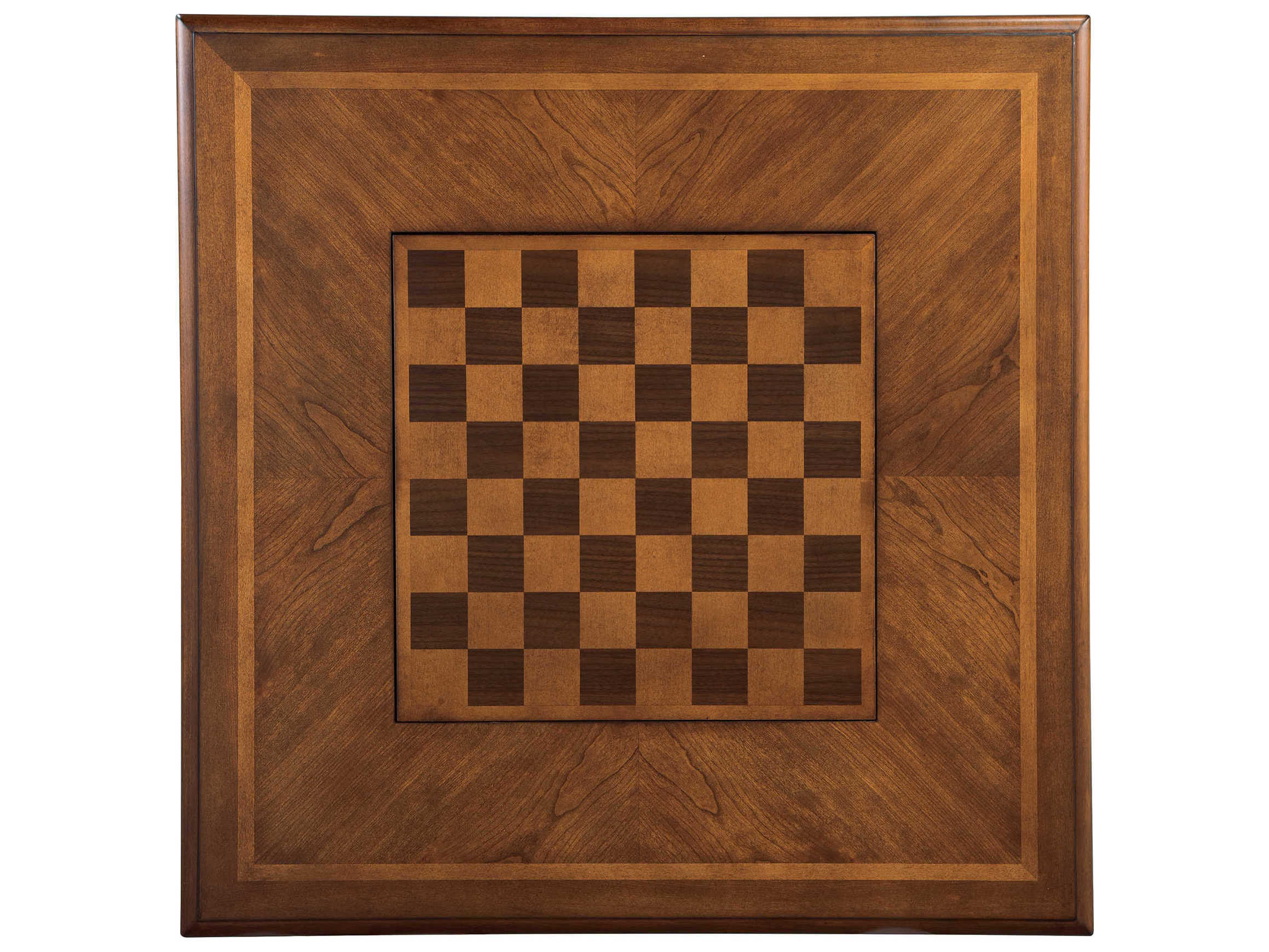 ... Hekman Accents Special Reserve 36u0027u0027 Square Game Table