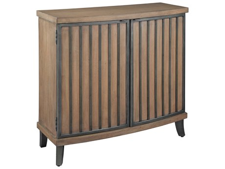 Hekman Accents Burnished Brown & Pewter Special Reserve Two-Door Accent Chest