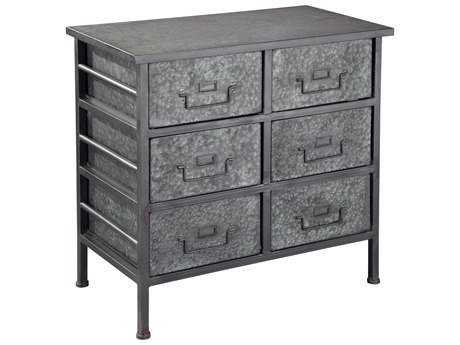 Hekman Accents Metal Special Reserve Six-Drawer Double Chest