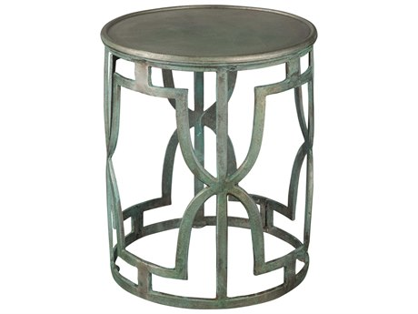 Hekman Accents Bronze Special Reserve 16.75'' Round Drum Table