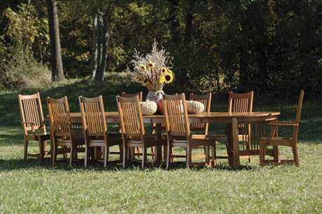 Hekman Arts & Crafts 10 Person Dining Set