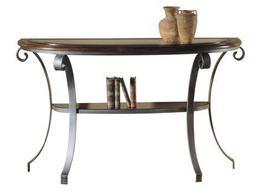 Hekman Accents 55 x 18 Demilune Sofa Table