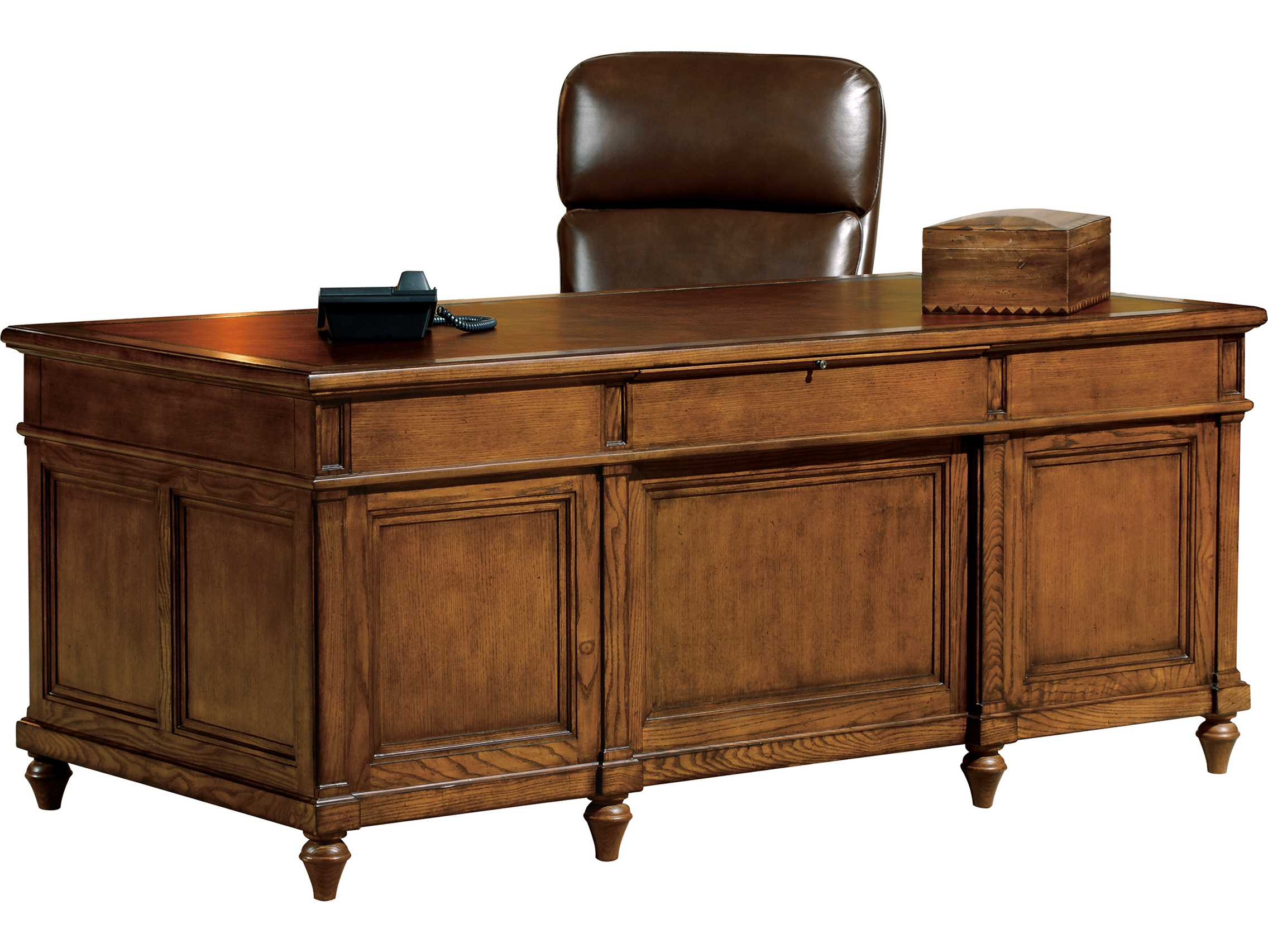 hekman office 72 x 36 executive desk in urban ash burl