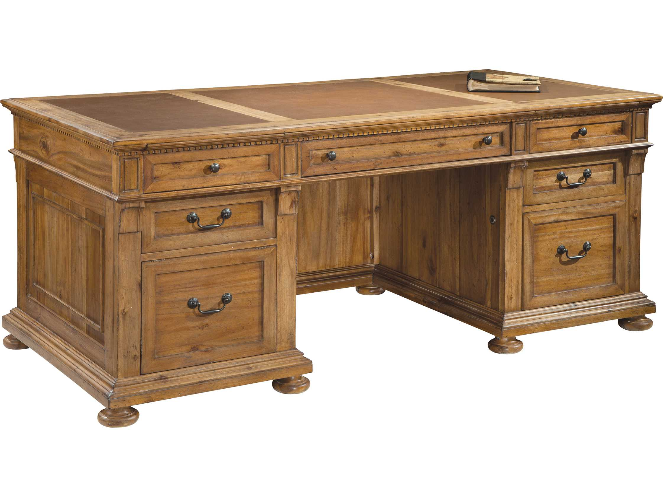 Hekman fice Express Relaxed Classic Executive Desk