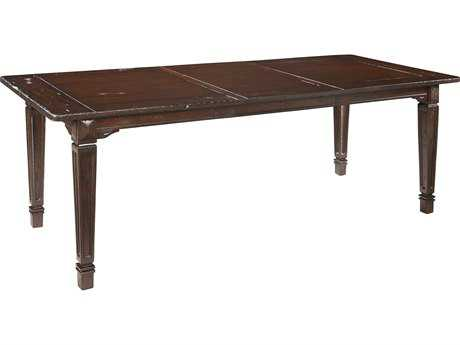 Hekman Havana Antique 66'' x 37'' Rectangular Dining Table