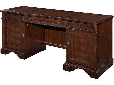 Hekman Havana Antique Credenza Desk
